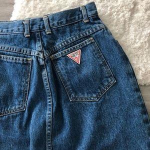 Vintage Guess Denim Skirt
